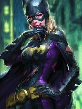 Batgirl Rain Hot Awesome Painting Art HUGE GIANT PRINT POSTER