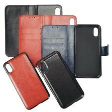 Handy Tasche Twin 2in1 Book Etui und Cover Magnet Schutz Hülle Bag Innenfach Bag