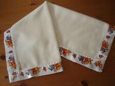 Baby bedding Lovely Handmade Cream Fleece/Disney Winnie the Pooh&Friends satin