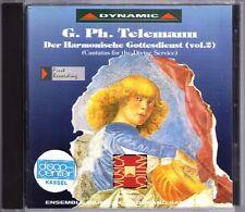 TELEMANN Der Harmonische Gottesdienst Devine Service Cantata GIUSEPPE NALIN CD