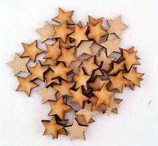 Wooden MDF Star Shape 3mm MDF, Craft Shape,blank,Embellishments, christmas xmas