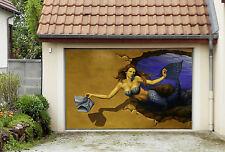 3D Sirena Charme 4 Garage Porta Stampe Parete Decorazione Murale AJ WALLPAPER IT