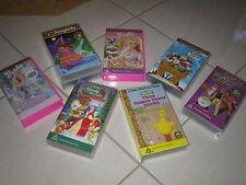 Bulk VHS Cassettes For Children In Excellent Condition!