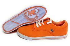 Mens Vlado Spectro 3 IG-1063-7 Orange White Canvas Sneakers Shoes