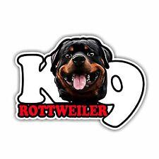 Adesivo Auto Sticker Rottweiler k9 CANE CANI wilsigns siviwonder