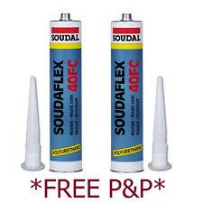 Soudaflex 40FC TWIN PACK General Purpose Adhesive Sealant Bonding Caravan Motor