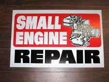 Auto Repair Shop Sign: Small Engine Repair