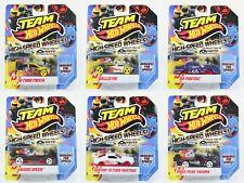 Hot Wheels High Speed Wheels Fiesta Mustang Pontiac + more toy cars 1:64 scale