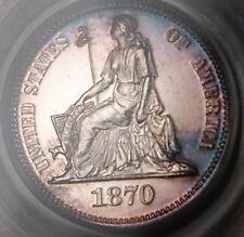 1870 10 Cent Silver Dime Pattern Judd-831 PCGS PR-63 CAM Proof