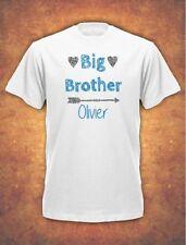 Personalised Big Brother  Birthday Present Gift baby Children's  T-shirt kids