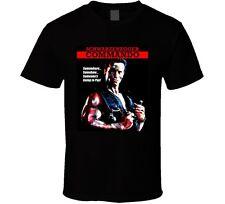 Commando Arnold Schwarzenegger Movie T Shirt