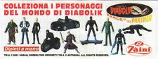 "Zaini Minifigures (4cm/1.6"") - Diabolik Series #2 (2002) - Choose a Character"