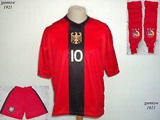 Deutschland Trikot RED BLACK Kinder Grösse Name Nr möglich zB Neymar Bale Messi