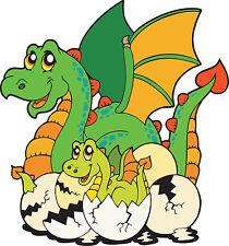 Adesivo bambino Dragone e bambino ref 3655