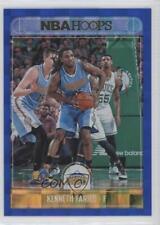 2017 Panini NBA Hoops Blue Checkerboard #142 Kenneth Faried Denver Nuggets Card
