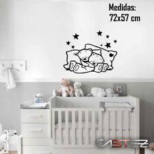 vinilo pared casa decorativo oso osito niño dormitorio bebe cuna ENV. 24/48h