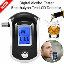 Advance LCD Digital Police Breath Alcohol Tester Breathalyzer Analyzer Detector