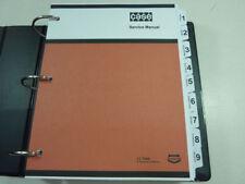Case 880B Excavator Service Manual Repair Shop Book NEW with Binder