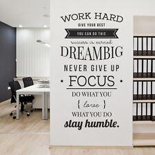 Trabajo duro, ofrezca a sus mejores, puede hacer esto, Sueño Grande.. - empresa Oficina, Corpo