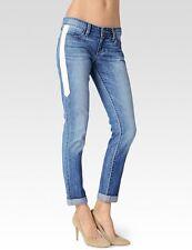 NWT Paige Denim Jeans Jimmy Jimmy Boyfriend Skinny Indigo Dart Leather $249