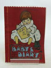 BABY'S DIARY. Illus. by Marsh, H.G.C.