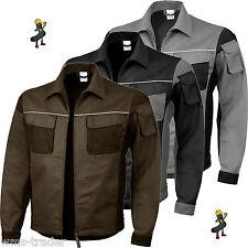 Arbeitsjacke Berufsjacke Arbeitskleidung Berufsbekleidung Mischgewebe 2-farbig