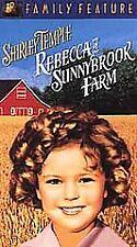 Rebecca of Sunnybrook Farm (VHS, 2001, Colorized/Slipsleeve) SHIRLEY TEMPLE