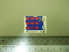 Malaysia 30 sen Stamp 5th ICAAP Art