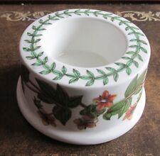 Una reproducción Vintage 1818 sostenedores de vela Floral Cerámica Portmeirion £ 16.00