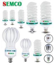 Économie d'énergie ampoules lumière du jour baïonnette spirale blanc ampoules photographie lampe lumières