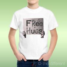 camiseta Niño niño Signo Libre Hugs Abrazos Idea De Regalo