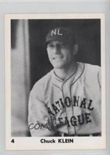 1974 Bra-Mac 1933 National League All-Stars #4 Chuck Klein Baseball Card