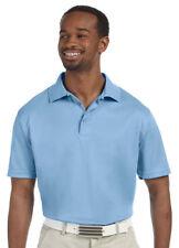 Harriton Men's New Three Button Placket Short Sleeve Polyester Polo Shirt. M315