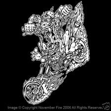 Mad Chopper Biker Bike Big Daddy Ed Roth Rat Fink Motorcycle Show Shirt NFT210