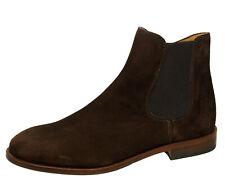 Gallucci 5404 Stiefeletten Chelsea Boots Veloursleder Braun Gr. 35 - 40 Neu