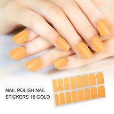 16 Pcs Nail Beauty Polish Manicure Sticker Nail Decoration Decals Makeup Tool KG