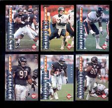 1995 CE Chicago Bears Set MARK CARRIER ERIK KRAMER STEVE WALSH CURTIS CONWAY