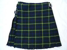 Scottish Highland Gordon Tartan Active Men Traditional Pleated to stripes Kilts
