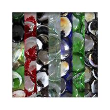 1 kg Glasnuggets Glassteine Muggelsteine Mosaiksteine Tischdeko 25/30mm