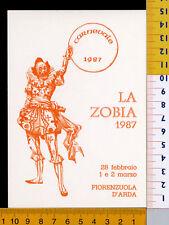 24588] PIACENZA  FIORENZUOLA D'ARDA  CARNEVALE 1987