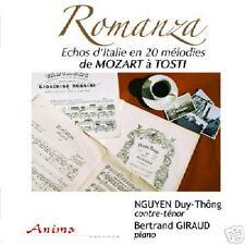 ROMANZA : de Mozart à Tosti. DT NGUYEN , Contreténor