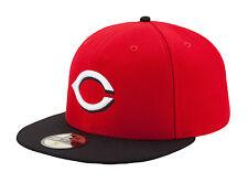 New Era 59Fifty MLB Cap Cincinnati Reds AC On Field Fitted Road Hat
