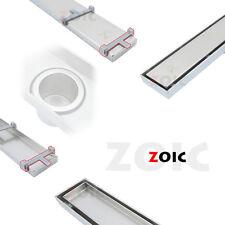 300mm-1800mm Linear Stealth Tile Insert Floor Grate Bathroom Shower Waste Drain
