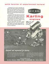 Vintage & Very Rare 1960 West Bend 580 Go-Kart Engine Brochure