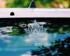 Mandala Sticker sunseal laptop window glass decal car bumper Lotus Flower