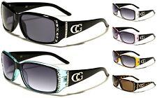 mujer NUEVO CG Gafas Sol De Diseñador Mujer Estilo Retro extragrande GAFAS
