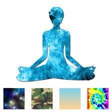 Yoga Meditation - Vinyl Decal Sticker - Multiple Patterns & Sizes - ebn763