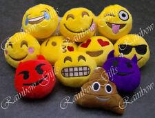 Emoji emoticono Llavero Amarillo Peluche Peluche Llavero Redondo