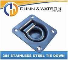 304 Recessed Stainless Steel Tie Down (Caravan, Camper Trailer, Boat, Marine)