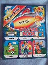 Personalizado Sticker Fun Sticker Book-Niños nombres K A Z
